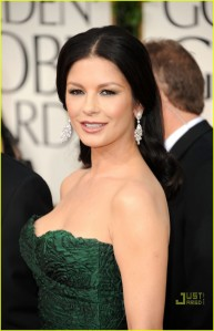 Catherine Zeta-Jones married Michael Douglas in November 2000.